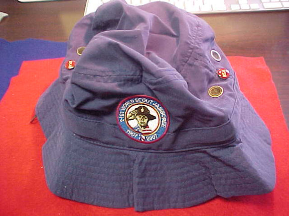 2007 WJ BUCKET HAT, BSA CONTIGENT, MINT COND.