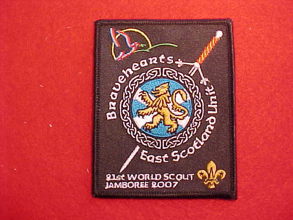 2007 WJ EAST SCOTLAND UNIT PATCH