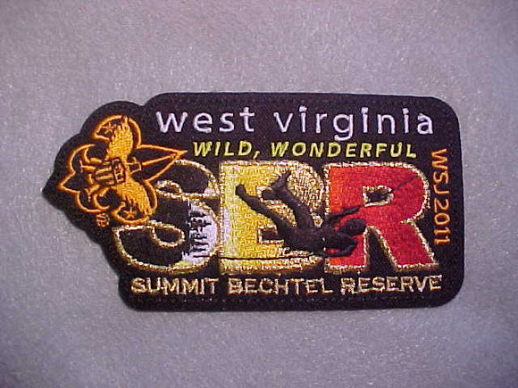 2011 WJ PATCH, BSA SUMMIT BECHTEL RESERVE