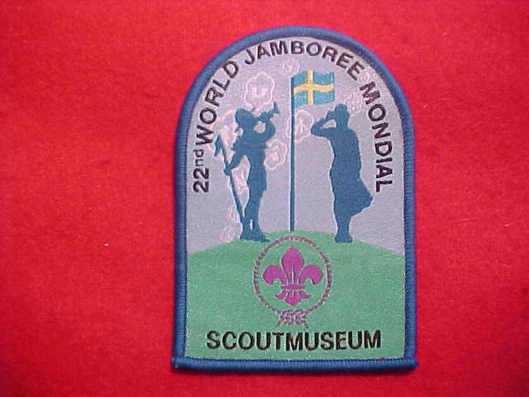 2011 WJ PATCH, SCOUT MUSEUM