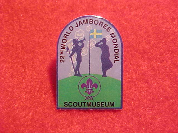 2011 WJ PIN, SCOUT MUSEUM