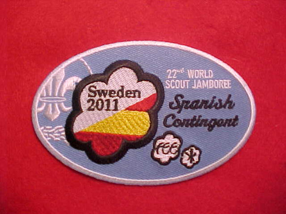 2011 WJ PATCH, SPAIN CONTINGENT