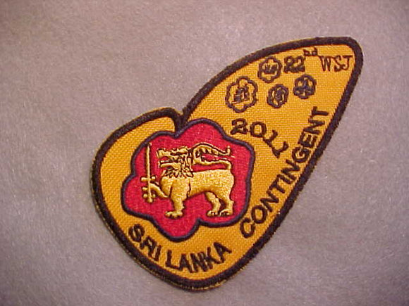 2011 WJ PATCH, SRI LANKA CONTINGENT