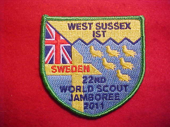 2011 WJ PATCH, WEST SUSSEX, UNITED KINGDOM