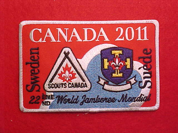 2011 WJ CANADA CONTINGENT PATCH