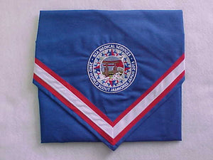 2015 WJ NECKERCHIEF, BSA MEDICAL SERVICES STAFF, RARE, MINT IN BAG