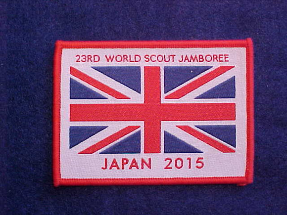 2015 WJ PATCH, BRITISH CONTINGENT