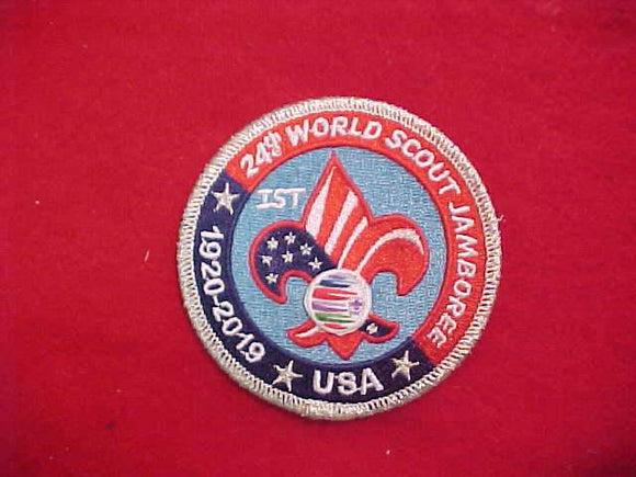 2019 WJ PATCH, BSA 1ST OFFICIAL ISSUE