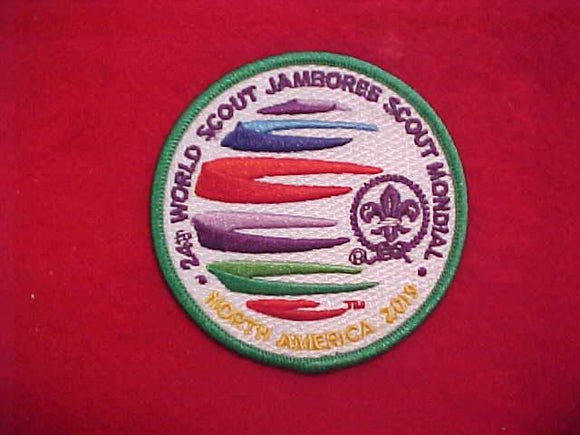 2019 WJ PATCH, TRADING POST ISSUE, 3