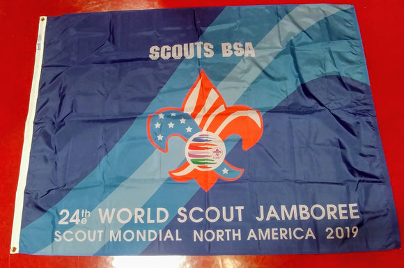 2019 WJ TROOP FLAG, SCOUTS BSA, 48X68