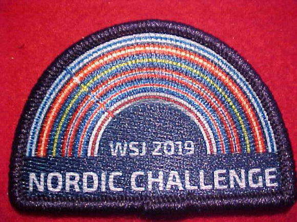 2019 WJ PATCH, NORDIC CHALLENGE
