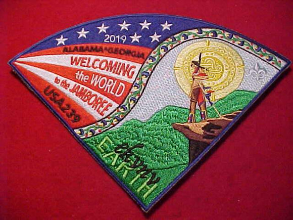 2019 WJ N/C PATCH, ALABAMA-GEORGIA, TROOP 239,