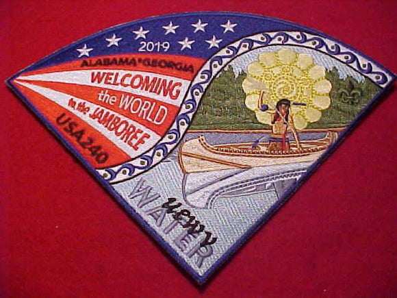 2019 WJ N/C PATCH, ALABAMA-GEORGIA, TROOP 240,