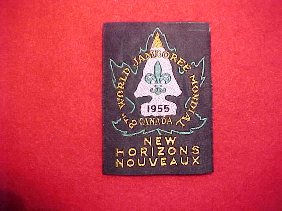 1955 WJ PATCH, OFFICIAL, MINT