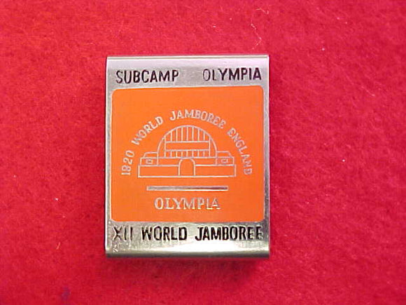 1967 WJ BELT LOOP,OLYMPIA SUBCAMP, 1920 WJ