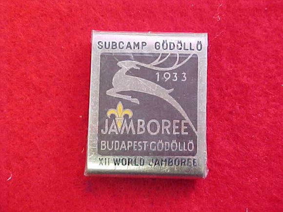 1967 WJ BELT LOOP, GODOLLO SUBCAMP, 1933 WJ