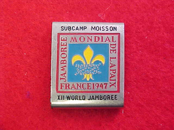 1967 WJ BELT LOOP, MOISSON SUBCAMP, 1947 WJ