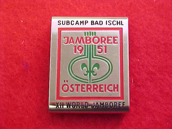 1967 WJ BELT LOOP, BAD ISCHL SUBCAMP, 1951 WJ