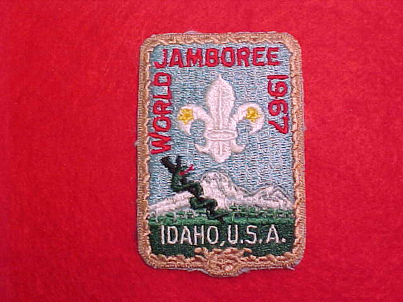 1967 WJ PATCH, MEDICAL STAFF, VERY RARE
