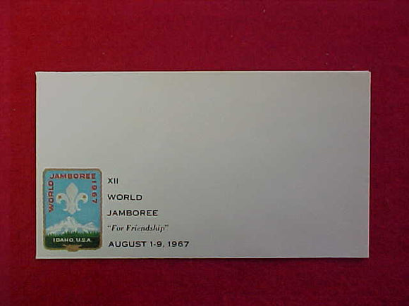 1967 WJ ENVELOPE, MINT, 3 5/8