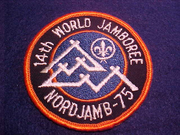 1975 WJ POCKET PATCH, SOLD AT TRADING POST, 3