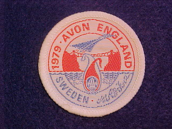 1979 WJ PATCH, DALAJAMB SWEDEN, AVON ENGLAND CONTINGENT