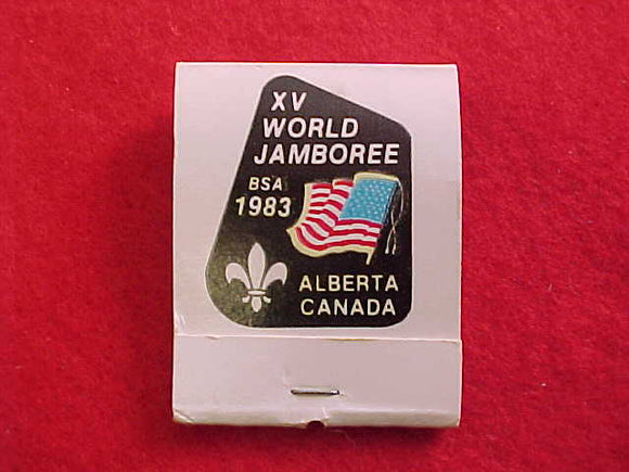 1983 WJ BSA/USA MATCHBOOK