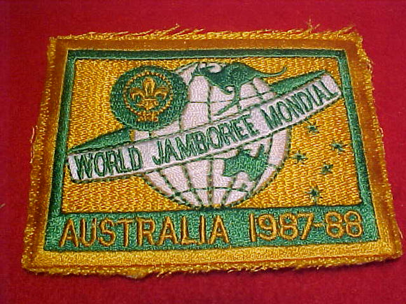 1988 WJ PATCH, OFFICIAL, PARTICIPANT ISSUE