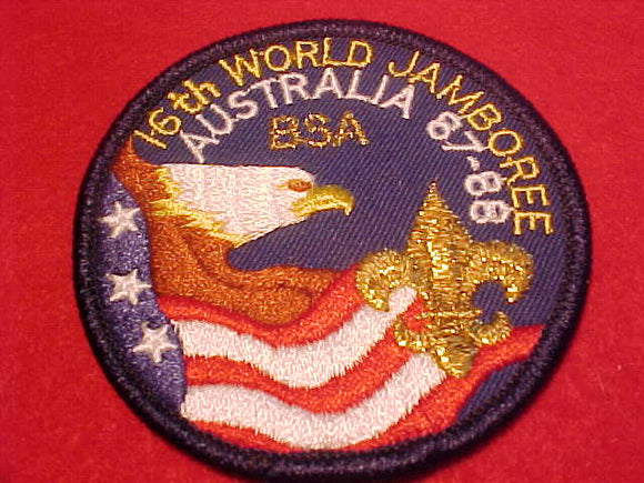 1988 WJ BSA CONTIGENT PATCH