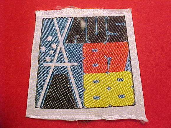 1988 WJ PATCH, GERMANY CONTIGENT, WOVEN