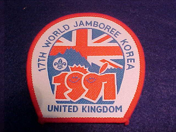 1991 WJ PATCH, UNITED KINGDOM CONTIGENT