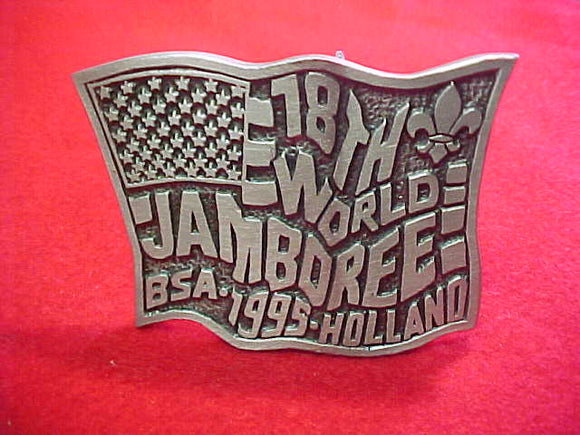 1995 WJ BELT BUCKLE, BSA CONTINGENT