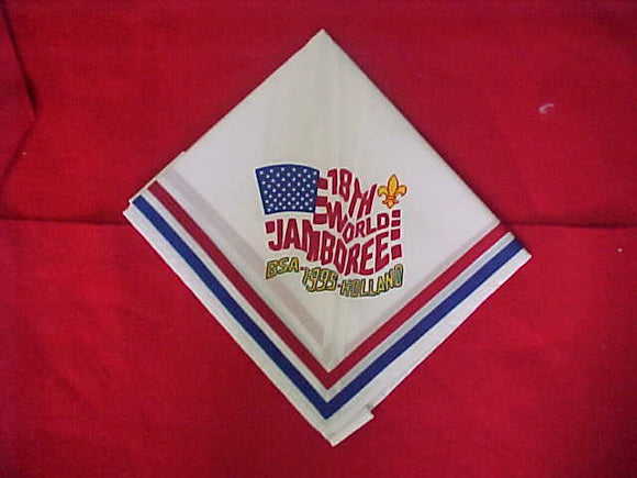 1995 WJ NECKERCHIEF, BSA CONTINGENT