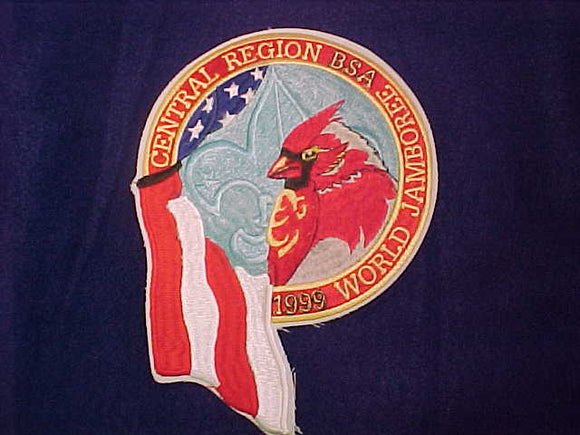 1999 WJ JACKET PATCH, BSA CENTRAL REGION, 6