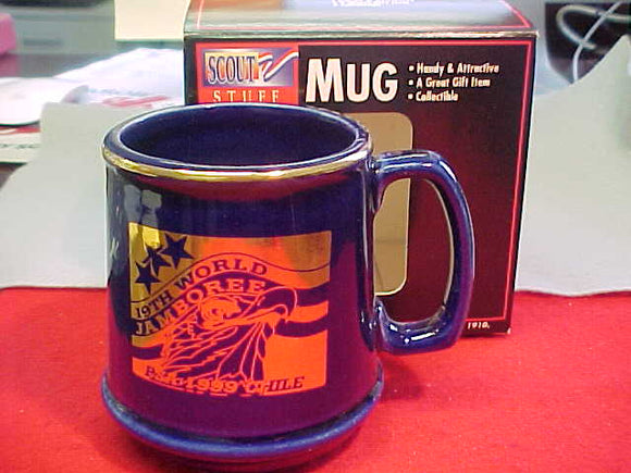 1999 WJ MUG, BSA CONTINGENT, MINT IN ORIGINAL BOX