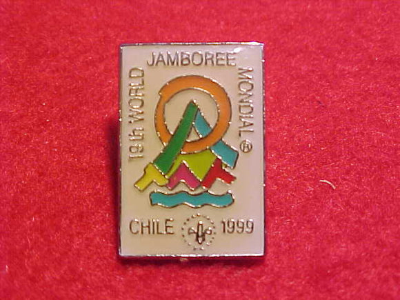 1999 WJ PIN, WHITE BACKGROUND, 14X21 MM