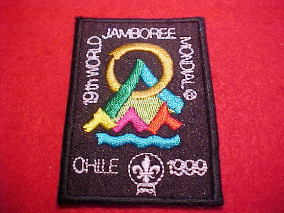 1999 WJ PATCH, SOUVENIR SCOUT SHOP ISSUE, BLACK BORDER