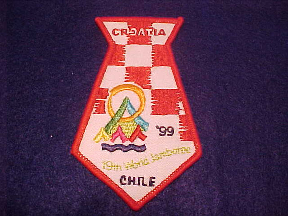 1999 WJ CONTINGENT PATCH, CROATIA