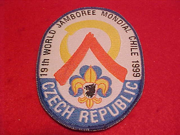 1999 WJ CONTINGENT PATCH, CZECH REPUBLIC