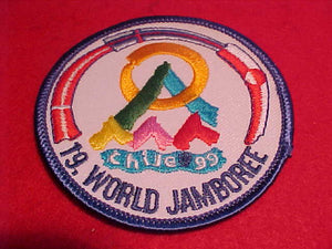 1999 WJ CONTINGENT PATCH, DENMARK