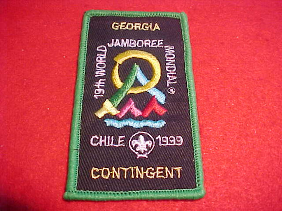 1999 WJ CONTINGENT PATCH, GEORGIA