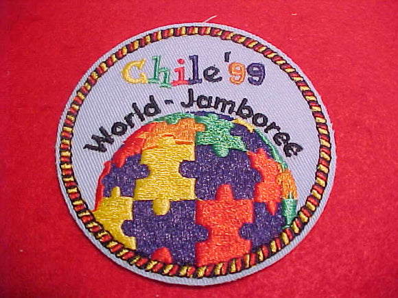 1999 WJ CONTINGENT PATCH, GERMANY