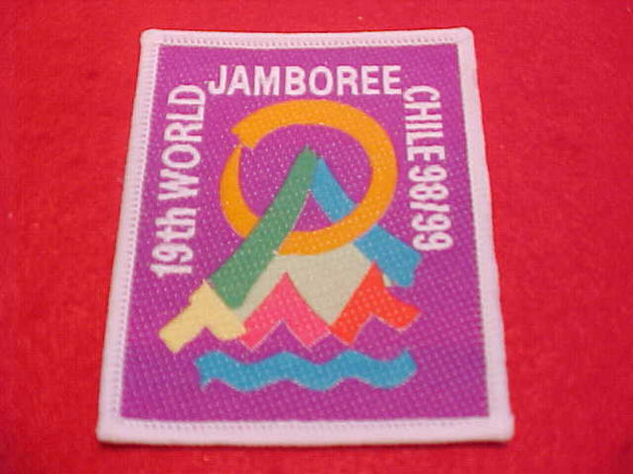 1999 WJ PROMOTIONAL PATCH, UNITED KINGDOM