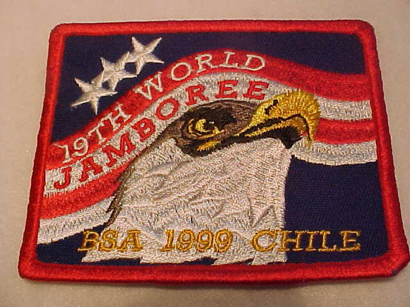 1999 WJ PATCH, BSA CONTINGENT, OFFICIAL