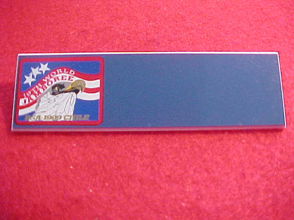 1999 WJ NAMEBADGE, BSA, BLANK