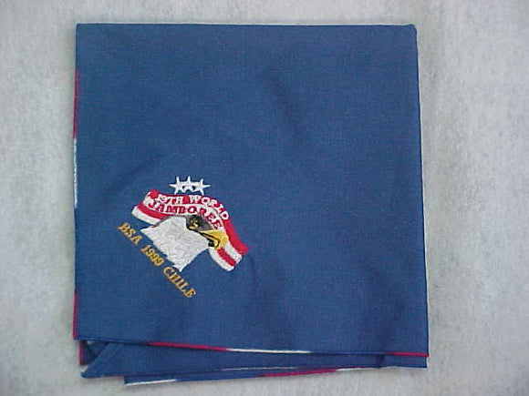 1999 WJ NECKERCHIEF, BSA CONTINGENT