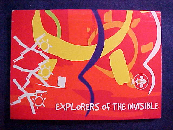2003 WJ RELIGIOUS GUIDEBOOK, EXPLORERS OF THE INVISIBLE, ENGLISH EDITION