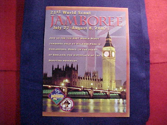 2007 WJ BROCHURE, INVITATION TO ATTEND