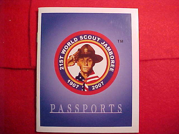 2007 WJ BOOKLET, BSA PASSPORTS DEVOTIONAL GUIDE