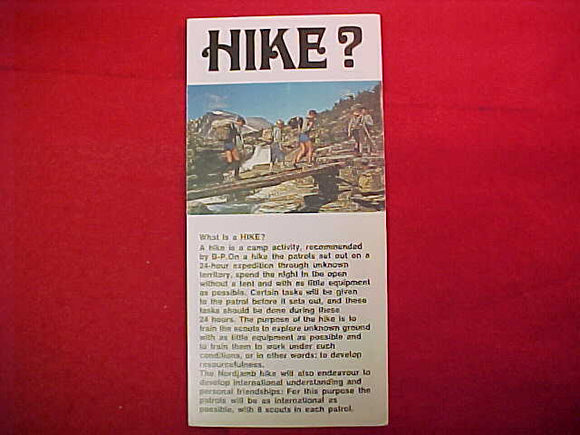 1975 WJ HIKE BROCHURE